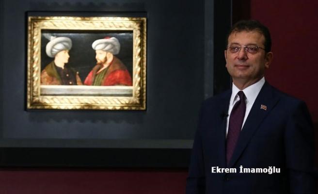 Fatih Sultan Mehmet'in Portresi İçin İstanbul'da Tanıtım