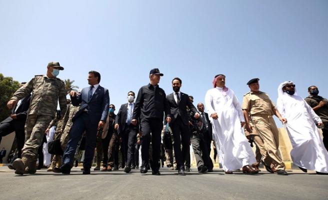 Milli Savunma Bakanı Akar ve Orgeneral Güler Libya'da
