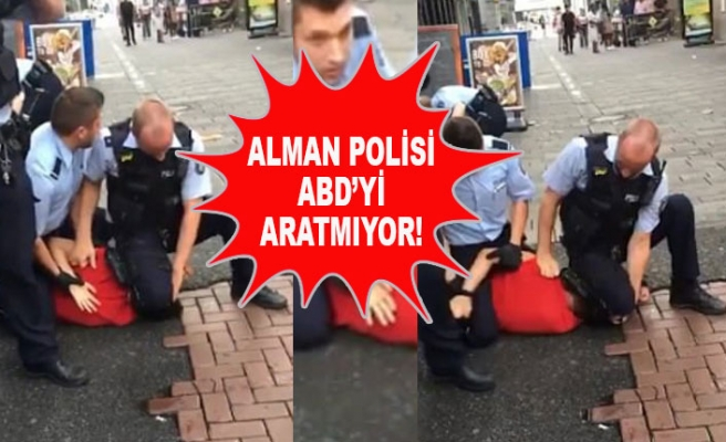 Şiddet Uygulayan Alman Polisler Uzaklaştırıldı