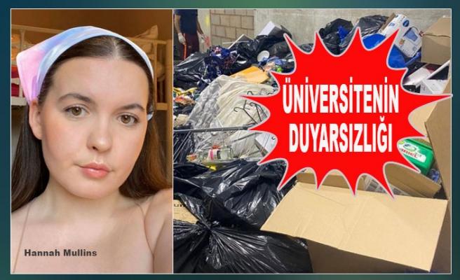 Üniversite, Öğrencilerin Eşyalarını Çöpe Attı