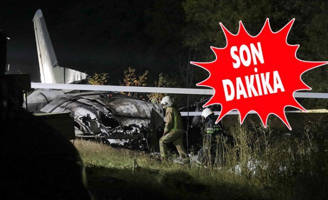 Askeri Uçak Düştü 26 Ölü