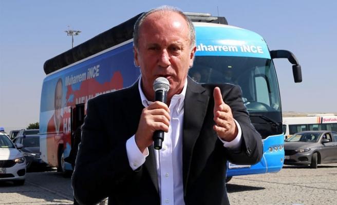 """Muharrem İnce """"Bin Günde Memleket Hareketi""""ni Sivas'tan Başlattı"""