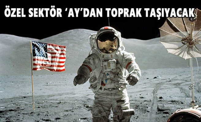 NASA, İhaleyle  'Ay'dan Toprak Alacak