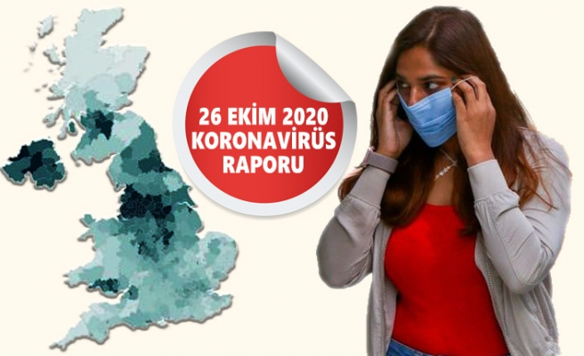 İngiltere'de Kovid-19 Vakası 900 Bin Sınırında