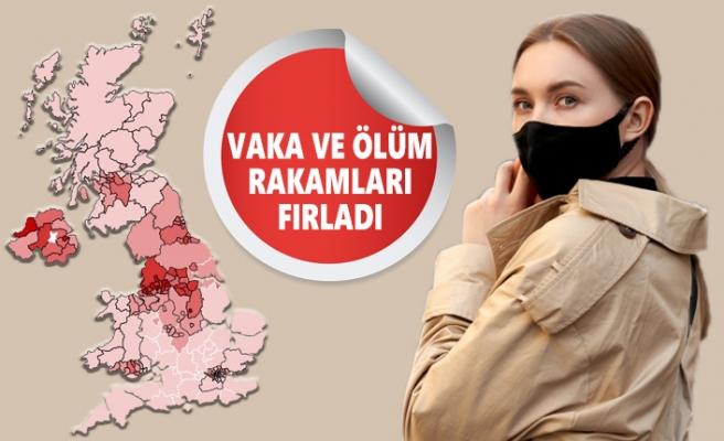 İngiltere'de Koronavirüs Rakamları Yine Zirve Yaptı