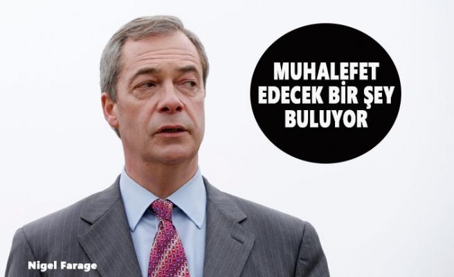 Aşırı Sağcı Nigel Farage Önlemlere Karşı