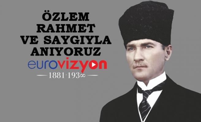 Atatürk Ebediyete İntikalinin 82. Yılında Törenlerle Anılıyor