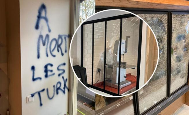 Fransa'da Türk İşyerine Irkçı Saldırı