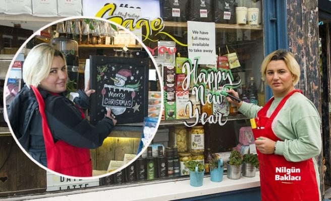 İngiltere Noel'i, Nilgün'ün Süslemeleriyle Kutluyor