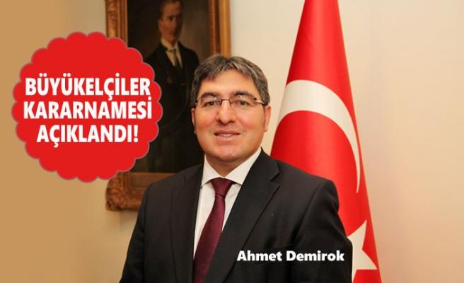 Ahmet Demirok, Bakü Büyükelçisi Oldu