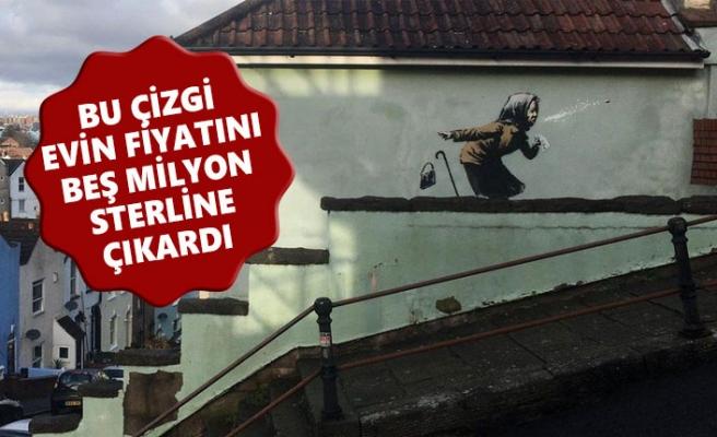 Banksy'in Yaptığı Grafiti Evin Değerini Uçurdu