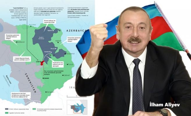 Ermenistan'ın 28 Yıl İşgal Altında Tuttuğu Laçin Artık Özgür