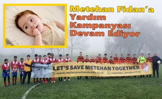 Luton Türk Rangers'dan Metehan Fidan'a Destek