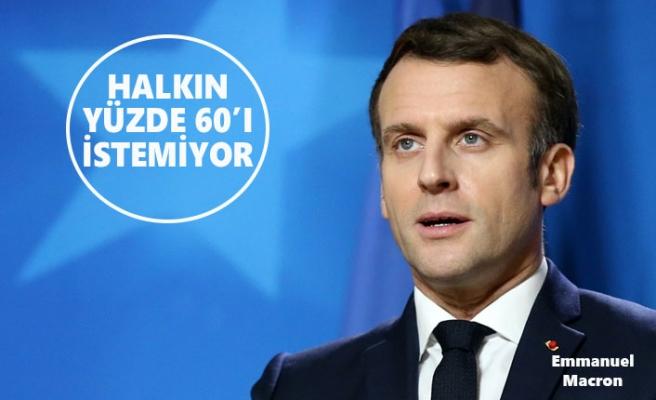 Macron Fransızların Gözünden Düştü