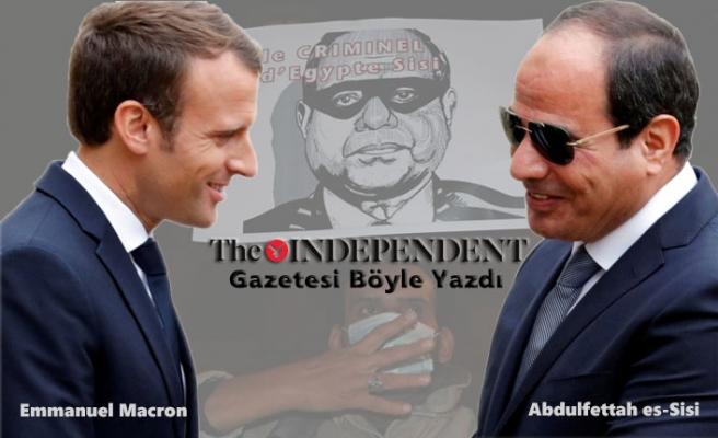 Macron, Sadık Silah Müşterisi Sisi'yi Ödüllendirdi!