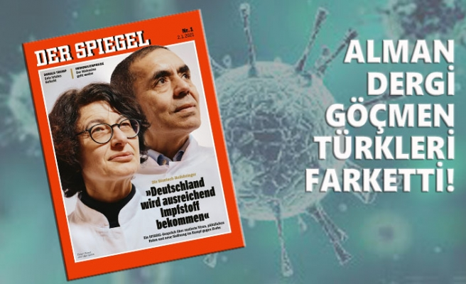Özlem Türeci ve Uğur Şahin, Der Spiegel'e Kapak Oldu