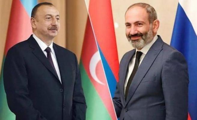 Putin, Aliyev ve Paşinyan'ın Dağlık Karabağ görüşmesi