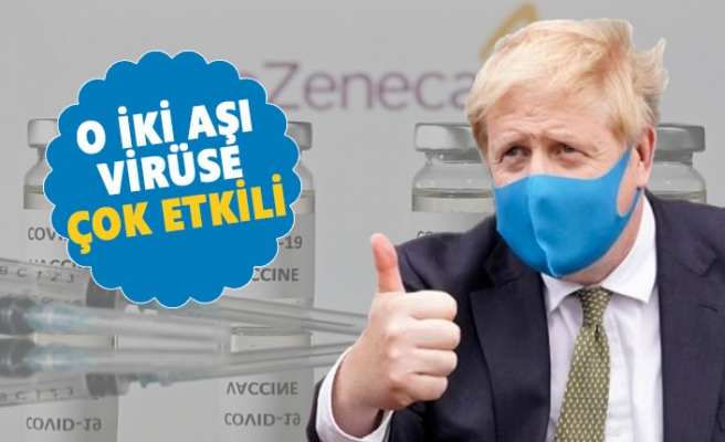 Boris Johnson'dan 'İki Aşıya' Güvence
