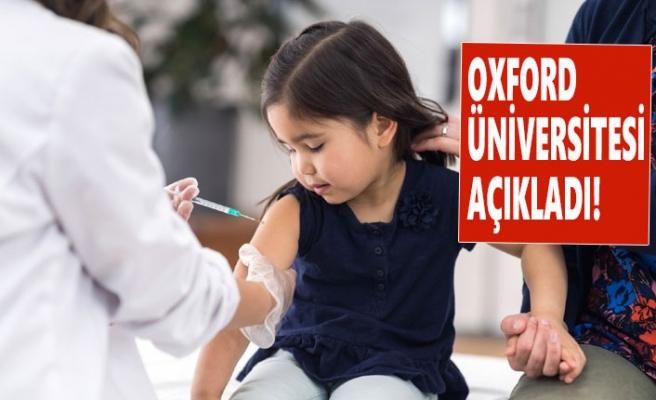 İngiltere'de Çocuklar Üzerinde Aşı Denemesi Başlıyor