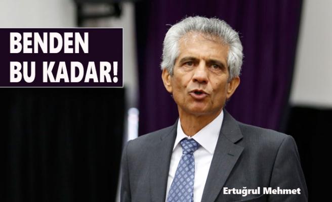 Ertuğrul Mehmet Başkanlığı Bırakıyor