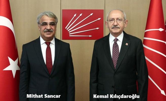 HDP'li Sancar, CHP Lideri Kılıçdaroğlu'yla Görüştü