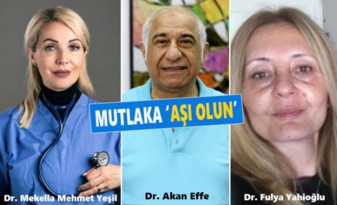 İngiltere'deki Türk Doktorlardan 'Aşı Yaptırın' Çağrısı