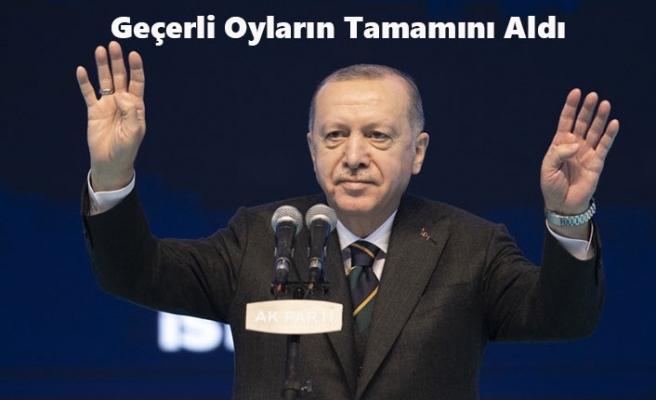 AK Parti Genel Başkanlığına 7. Kez Erdoğan Seçildi