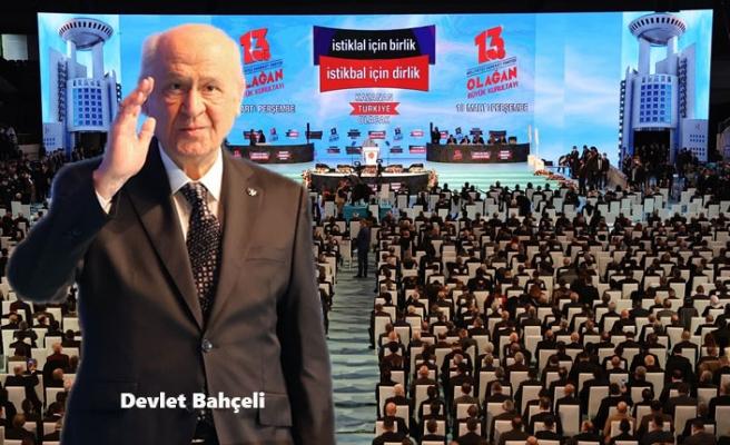 Devlet Bahçeli, MHP Genel Başkanlığına Yeniden Seçildi