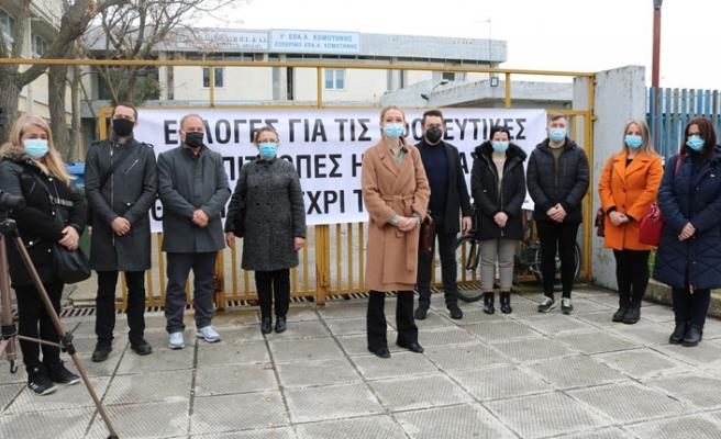 Batı Trakya Türkleri, Azınlık Okullarının Encümen Seçimleri İçin Gösteri Yaptı