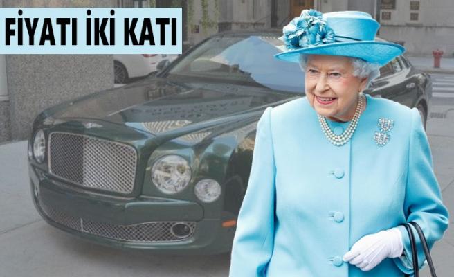 Kraliçe Elizabeth'in, Bentley Marka Otomobili Satılık