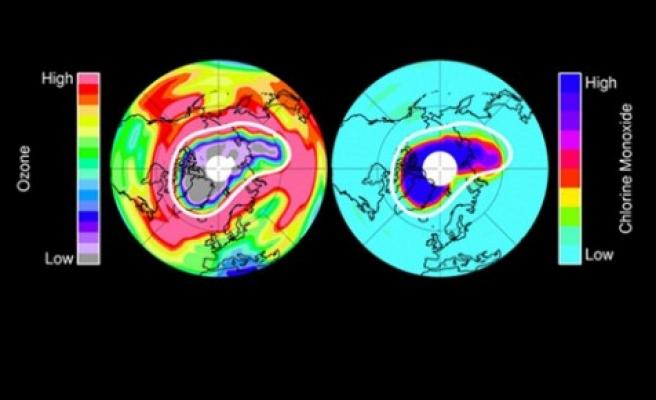 'Benzeri görülmemiş' büyüklükte ozon deliği