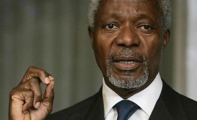BM Kofi Annan, Ankara\'da