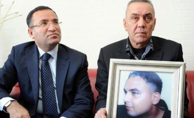 Bozdağ\'dan, İhsan Gürz\'ün ailesini ziyaret