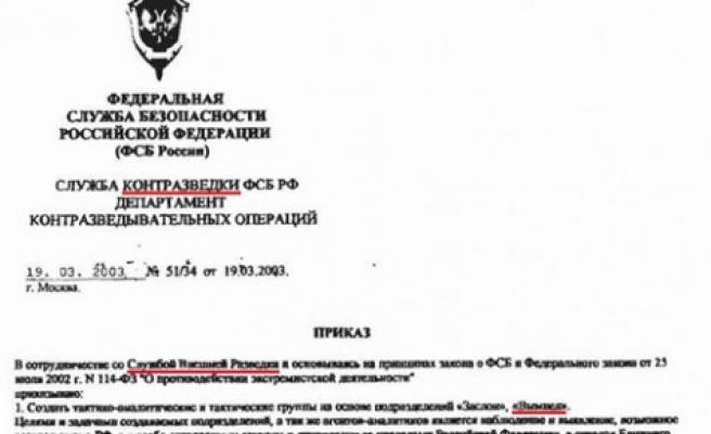 """Çeçenlerin öldürülmesi FSB'nin tüzüğüne göre """"yasal"""""""