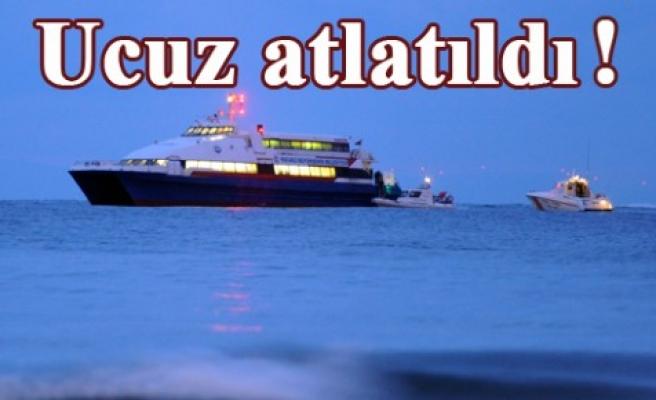 Deniz terörü film gibi operasyonla sonuçlandı