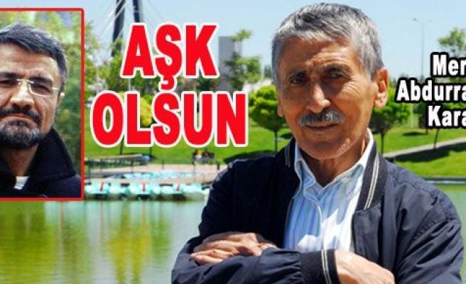 Dr. Lütfü Şahsuvaroğlu, Karakoç'u yazdı