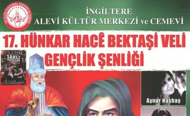 Hünkar Hacı Bektaş Veli için Londra'da Şenlik