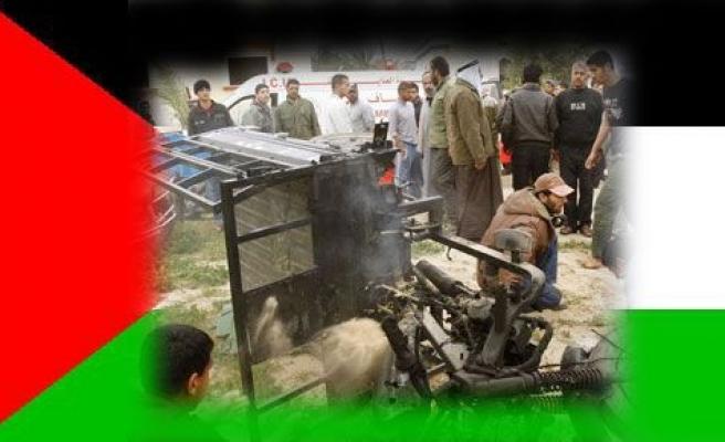 İsrail bir kez daha Gazze\'yi vurdu