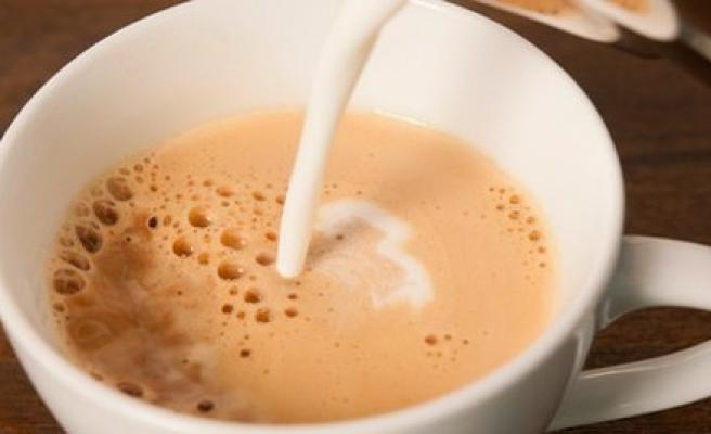Kahveyi sütlü için çünkü...