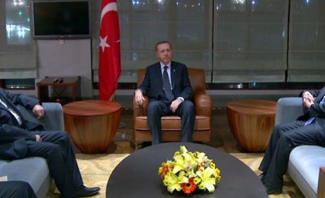 Salih El Mutlak, Başbakan Erdoğan\'ı ziyaret etti