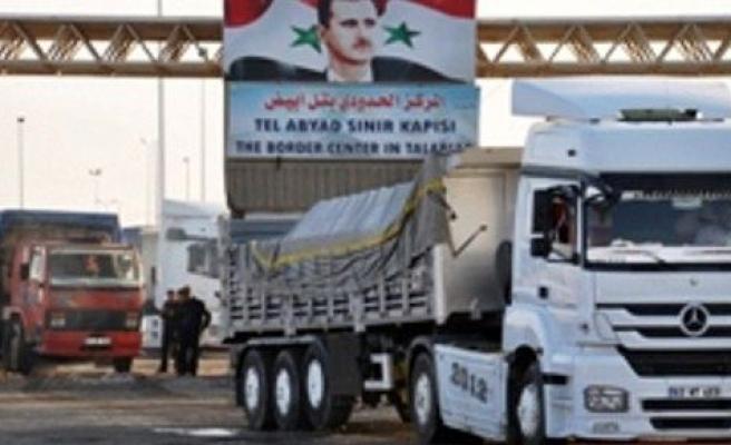 Suriye' de mahsur kalan araçlar Türkiye'ye dönüyor