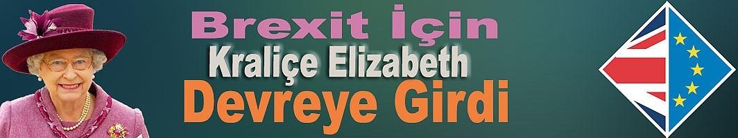 Kraliçe II. Elizabeth'den partilere 'Brexit' mesajı