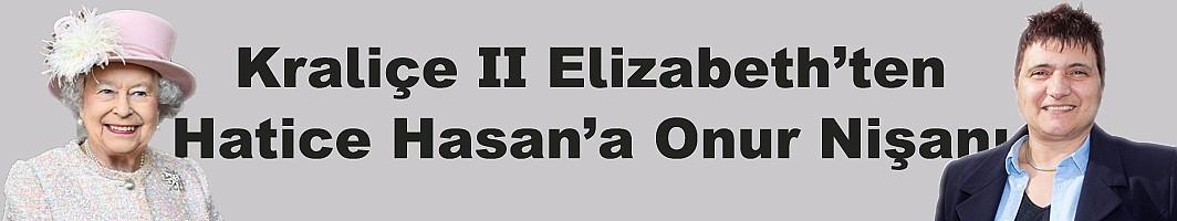 Hatice Hasan, Kraliçe'nin Onur Listesinde