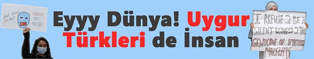 """Çin'in """"Uygur Soykırımı"""" Londra'da Protesto Edildi"""