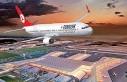 Türk Hava Yollarının ilk yolcu uçağı yeni havalimanına...