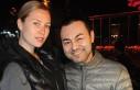 Serdar Ortaç'ın eşi Chloe Loughnan trafik...