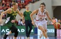 Basketbolda Türkiye: 74 - Litvanya: 51
