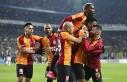 Galatasaray'da tarihi galibiyet sevinci