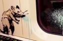Banksy, koronavirüs temalı resimlerin videosunu...