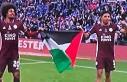 Leicester City Oyuncuları Final Maçı Sonrası Filistin...
